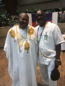 Houngan Ismaite André, Serviteur aux affaires cultuelles, à la journée internationale de la diaspora Haïtienne - Université du Québec à Montréal (UQAM), 28-29 avril 2017
