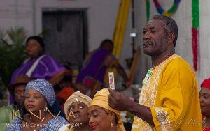Houngan Ismaite André, Serviteur aux Affaires Cultuelles de la K.N.V.A.